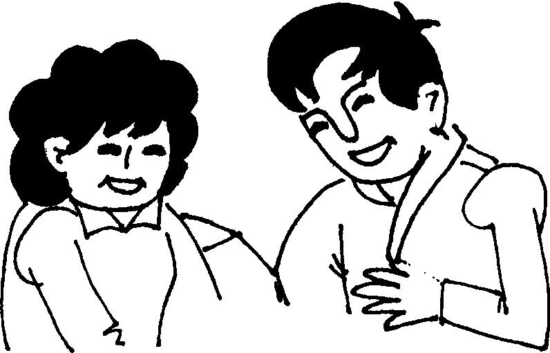 简笔画人物头像中年男子