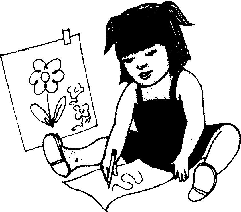 老师形象漫画手绘