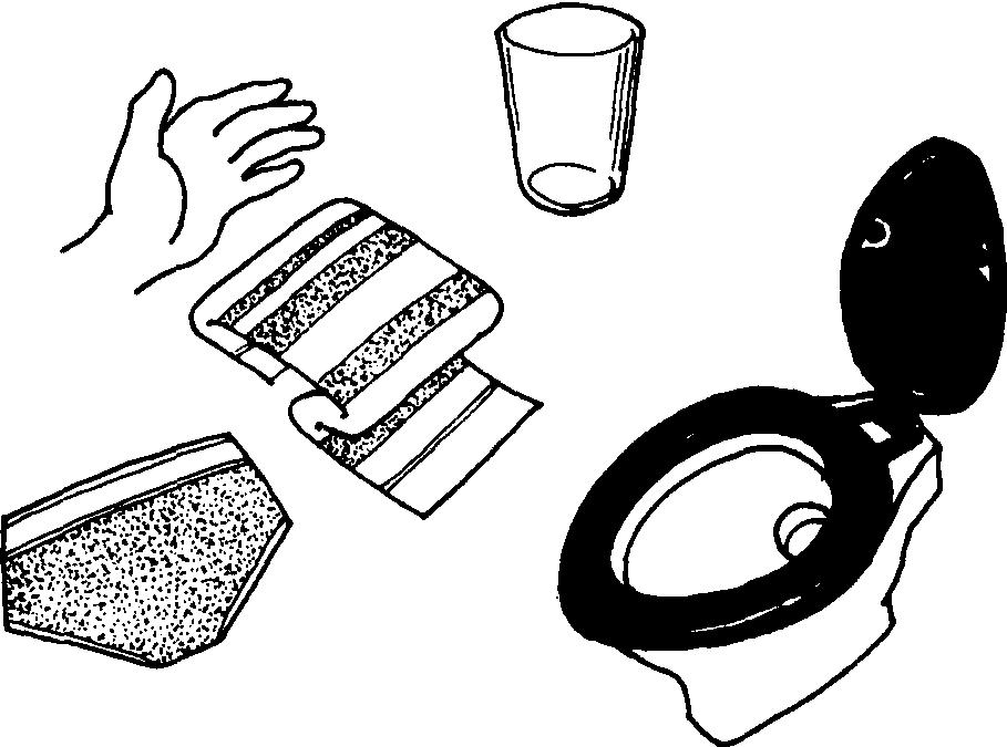 儿童洗手步骤简笔画