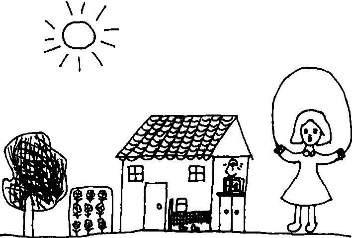 一年级简笔画-图式期的绘画