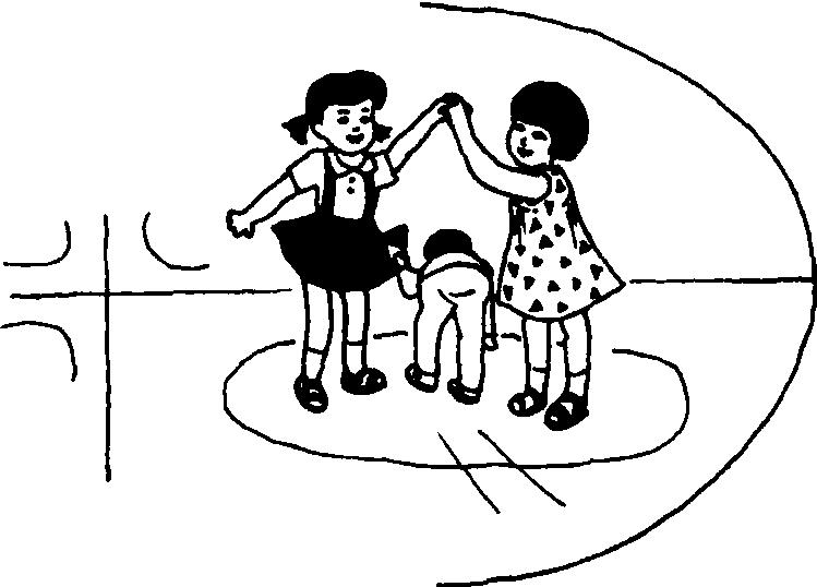 手拉手的两个可爱的小学生图片