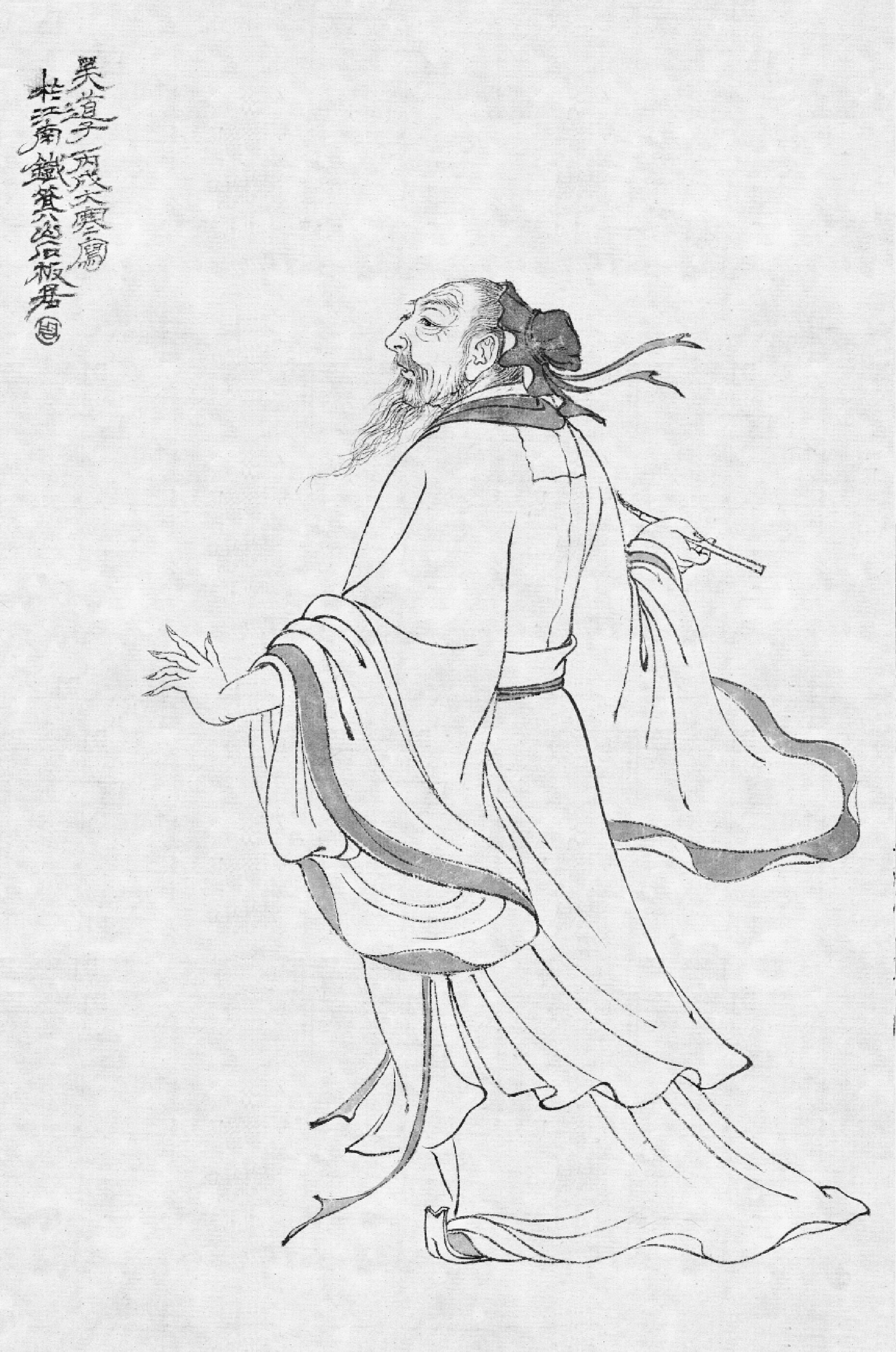 吴道子-历史人物-图片