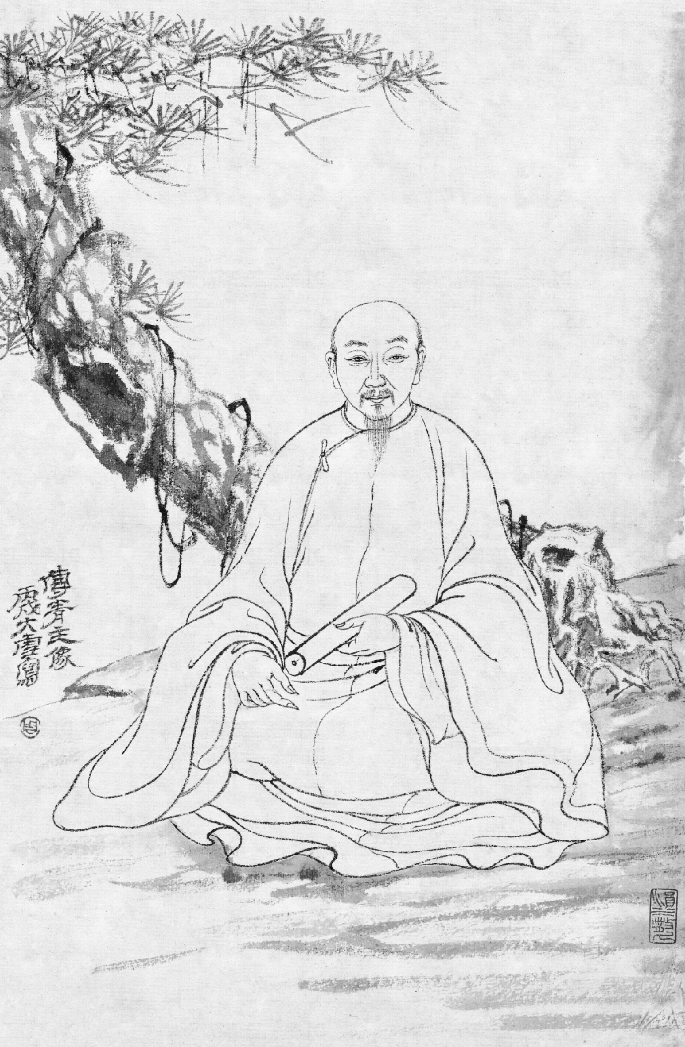 傅山-历史人物-图片